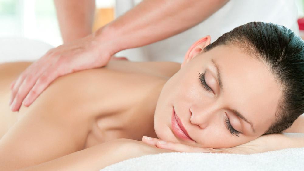 full body back massage Cape Town